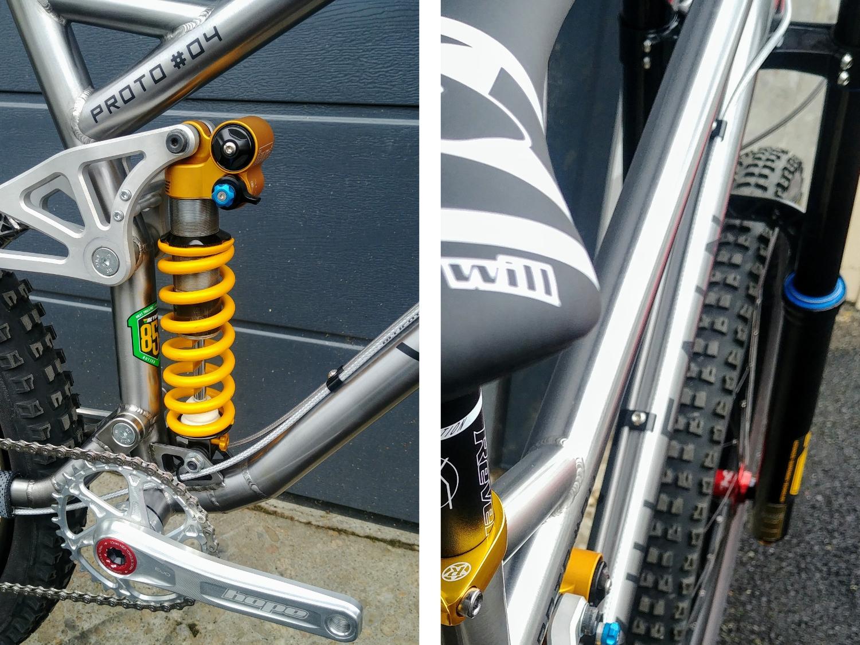 Magma DH test bike details